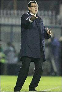 Northern Ireland manager Lawrie Sanchez