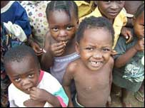 Image of African children by Richard Lord