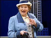 Patricia Routledge in The Solid Gold Cadillac