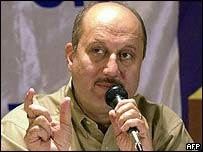 Sacked film censor chief Anupam Kher