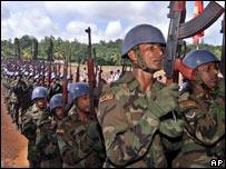 Soldados de la ONU