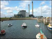 Cockenzie coal plant - (picture by Undiscovered Scotland)