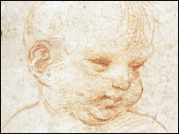 Head Of A Child sketch
