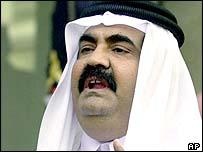 Emir Sheikh Hamad bin Khalifa Al Thani of Qatar