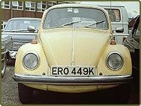 Volkswagen VW Beetle car