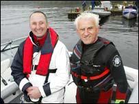 Mark Threadgold and Gerald Price