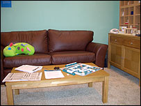 Photo of RNIB living room