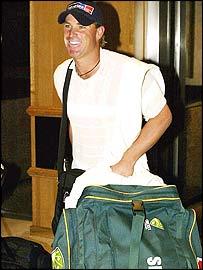Australia leg-spinner Shane Warne