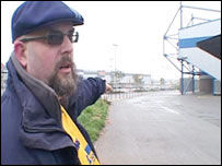 Andy Nixon and the North Stand