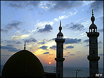 Mosque in Gaza City