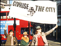 Civilise the City march