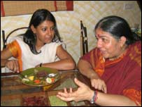 Nandita Das and Vandana Shiva