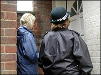 Education welfare officer and police youth officer