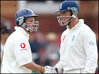 Andrew Strauss and Marcus Trescothick
