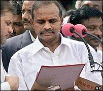 Andhra Pradesh Chief Minister YS Rajasekhar Reddy