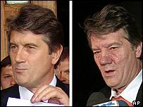 Ukrainian opposition leader Victor Yushchenko