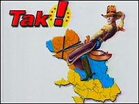 Satirical Ukrainian election advert