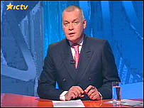 Ukrainian TV presenter