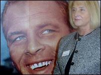 The late John Charles and his widow Glenda