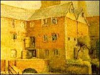 Robert d'Oilly's castle