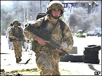 British troops could be moved from southern Iraq