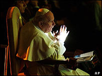 Pope at the Russian concert