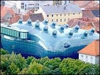 Kunsthaus arts centre, Graz, Austria