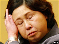 Hitomi Soga, a Japanese woman abducted by North Korea and released much later