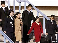 Children of Japanese abductees leave North Korea