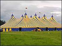 Eisteddfod pavilion