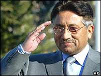 President Pervez Musharraf