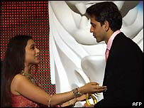 Rani Mukerjee and Hrithik Roshan