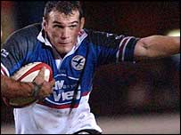Wales and Celtic Warriors lock Robert Sidoli has joined the Blues