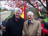 Rhodri Morgan and Alun Menai Williams