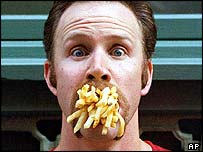 Film director Morgan Spurlock