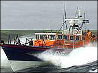 Sennen Cove Tyne-class lifeboat