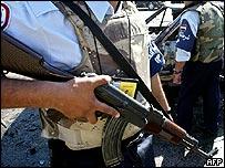Iraqi policemen (archive)