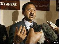 Sudanese Foreign Minister Mustafa Osman Ismael
