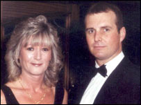 Det Con Swindells with his wife Carol