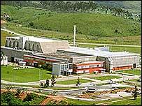 Planta de Resende (Gentileza: Industrias Nucleares do Brasil-INB)