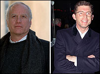 Richard Dreyfuss (l) and Lee Evans