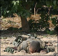 Body of Hamas infiltrator