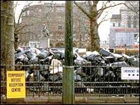 Rubbish piles up during 1979 strikes
