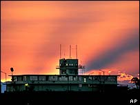 Sunset at Guantanamo Bay