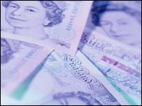 UK bank notes, BBC/Corbis