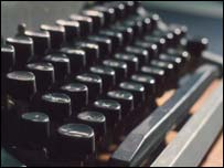 Typewriter keys, BBC