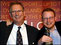 John Warnett (left) and Dominic King (right)