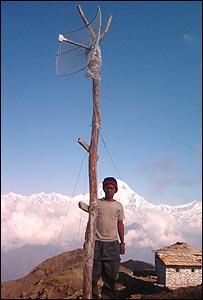 Wi-fi aerial in Nepal