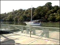 River Fal at Feock