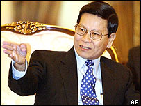 Khin Nyunt, September 2004